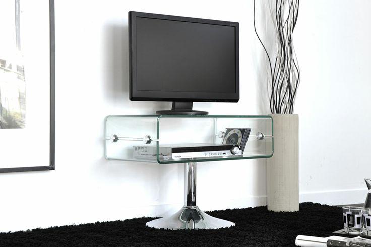 MEUBLE TV TRANSPARENT SABINA http://www.cotecosy.com/salon/rangement-salon/meubles-tv/meuble-tv-transparent-sabina.html