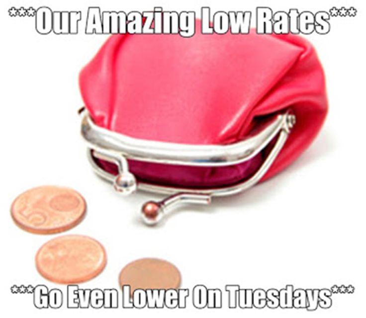 """***Cheap Tuesday***"" http://bit.ly/1VFIZud"