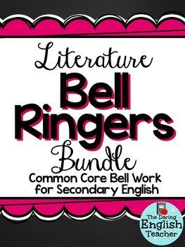 Get your secondary English students thinking and writing with this literature…