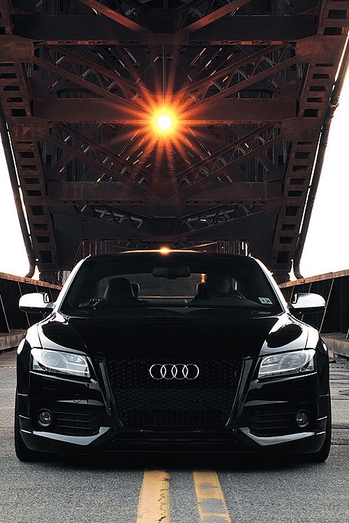 Audi S5 with Black Optics Package and Fine Nappa Leather interior (Black and Coffee interior)
