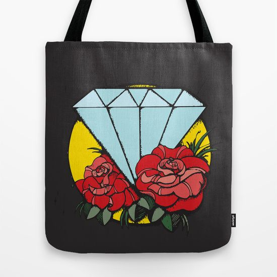 Buy Shine Bright Like a Diamond  by MAJA as a high quality Tote Bag. Worldwide shipping available at Society6.com. Just one of millions of products available.