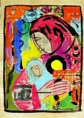 Mother and Child - George Stefanescu 1969