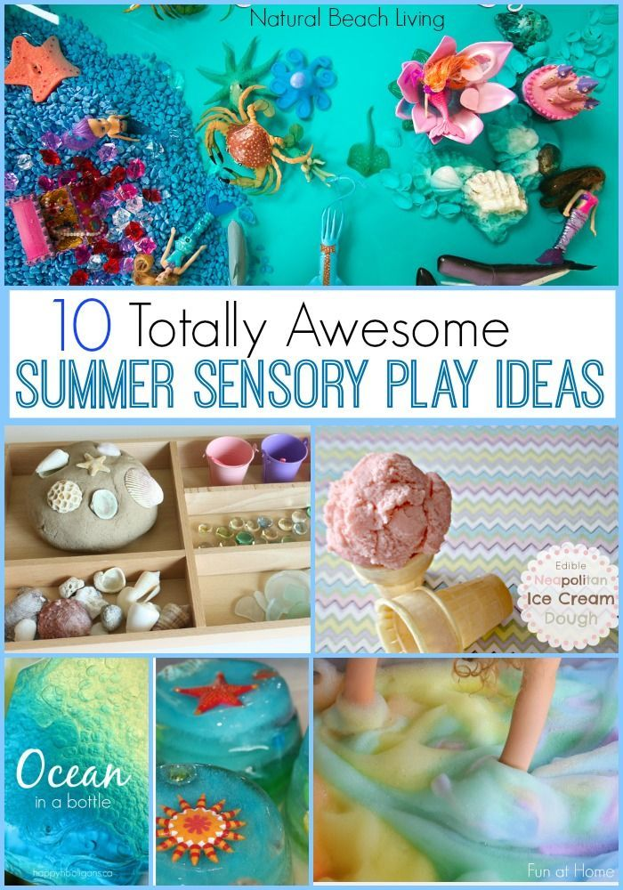10+ Totally Amazing Summer Sensory Play Activities and Ideas, Easy fun kids activities, perfect sensory play, The Best Sensory Science, Fizzy, Ice, & more