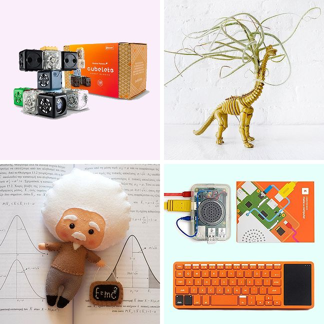 Fun science-themed gifts for kid geniuses with a sense of humor.