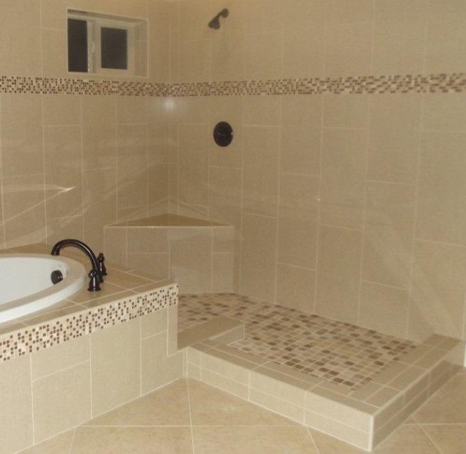 Mosaic Tile Bathroom Shower: Pietre Del Nord Alaska Polished 12x24