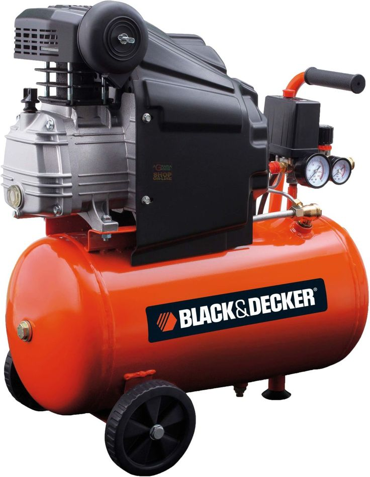 BLACK AND DECKER COMPRESSORE 220V Mod. BD 205/24 HP. 2,0 LT. 24 https://www.chiaradecaria.it/it/compressori/1823-black-and-decker-compressore-220v-mod-bd-205-24-hp-20-lt-24.html
