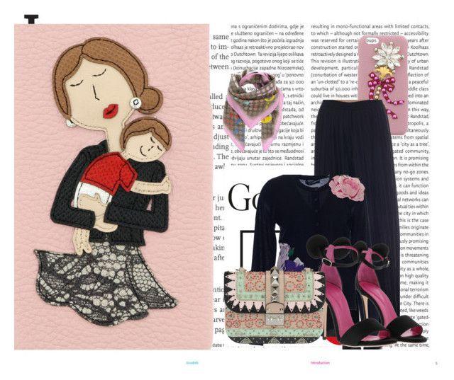 """""""Pretty in Pink"""" by brunarosso-eshop on Polyvore featuring moda, Oris e Oscar Tiye"""