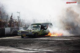 Vanman burnout fire