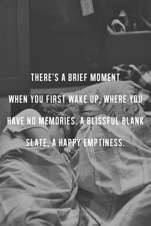 A happy emptiness ...