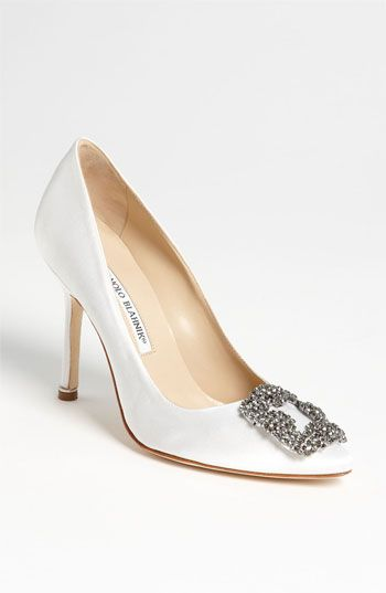 Manolo Blahnik 'Hangisi' Jeweled Pump | Nordstrom
