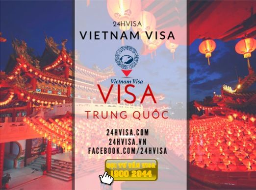 http://24hvisa.com/visa-du-lich-trung-quoc-tai-vietnam-visa.html  Vietnam Visa là công ty chuyên tư vấn và cung cấp hồ sơ làm visa du lịch Trung Quốc. Khách hàng sẽ không phải mất thời gian làm thủ tục hành chính.  Tổng đài tư vấn Visa: 1900 2044 Miền Nam: (08) 7106 0088 Miền Bắc: (04) 7106 0088 www.24hvisa.com/ www.facebook.com/... www.instagram/... www.slideshare.ne... www.youtube.com/... Email: cskh@24hvisa.vn
