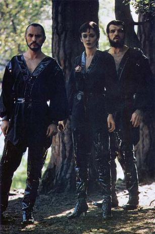 Superman II baddies - Terrence Stamp as General Zod, Sarah Douglas as Ursa and Jack O'Halloran as Non