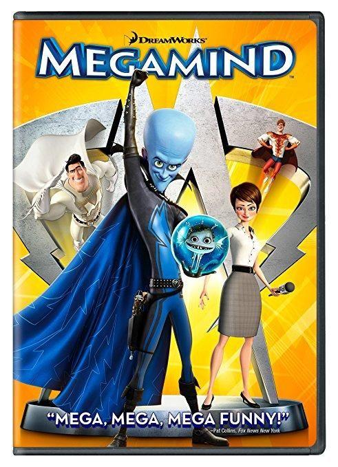 Will Ferrell & Brad Pitt & Tom McGrath-Megamind