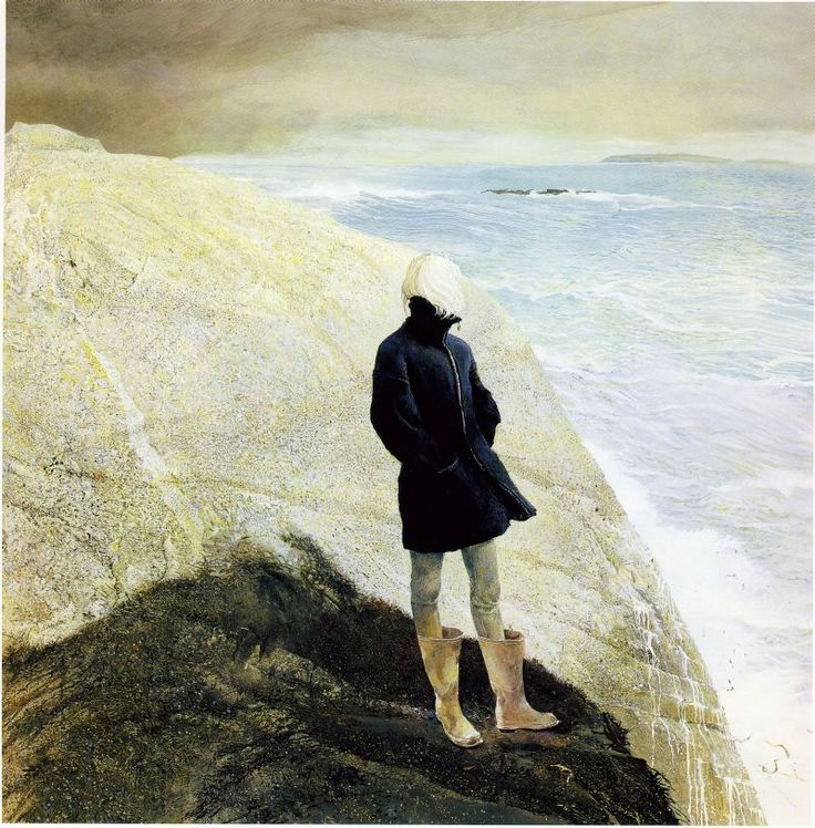 by.Andrew Wyeth ~ I love this because he learned from the best AND he added his own talent to create masterpieces ~ gosh, i will forever be a Wyeth fan!: