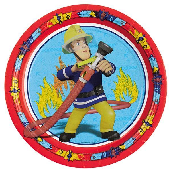 Partyteller-Feuerwehrmann-Sam-Fireman-Sam