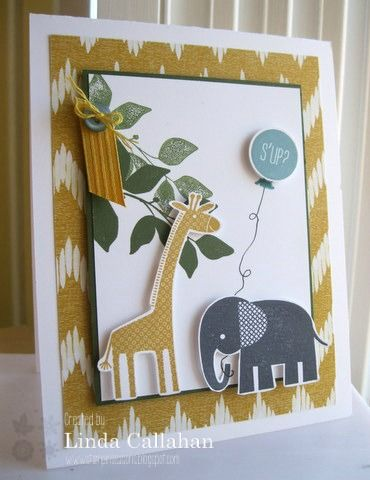 Stampin' Seasons: The Stamp Review Crew: Zoo Babies