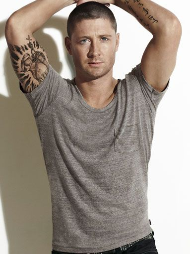 Michael Clarke- almost a reason to sit through cricket (I said 'almost' right?)