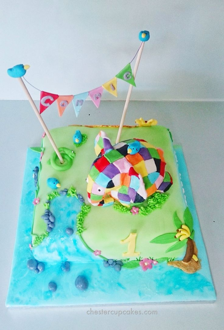11 best Elmer party images on Pinterest | Birthdays, Anniversary ...