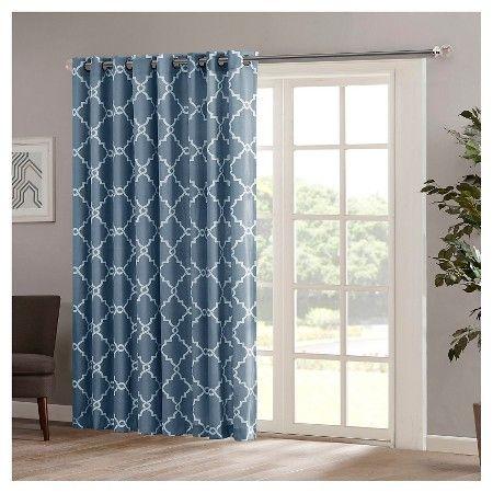 Sereno Fretwork Print Patio Curtain Panel : Target
