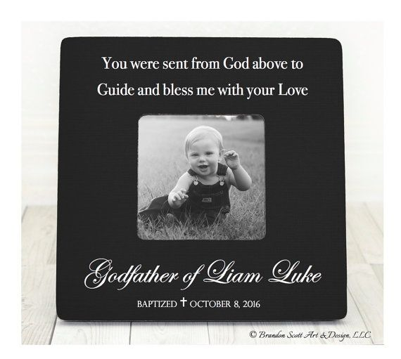 godfather frame baptism frame christening frame by brandonscottad