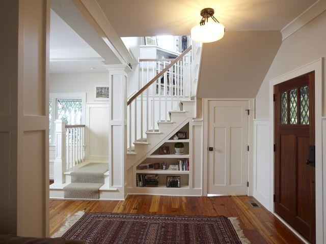 интерьер коридора в деревенском стиле лестница - Поиск в Google