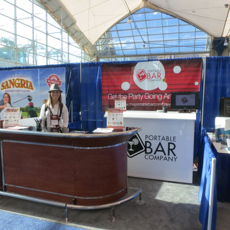 Awesome The Portable Bar Company At The CMAA Business Expo | Trade Show Booths |  Pinterest | Portable Bar