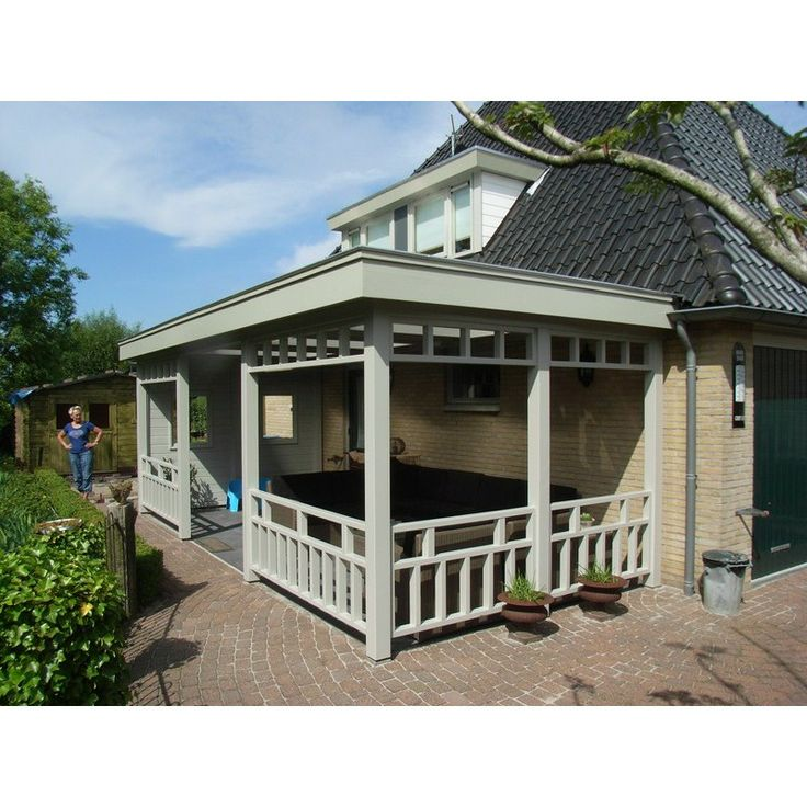 Luxe aanbouw veranda op maat laten maken veranda 39 s for Houten veranda