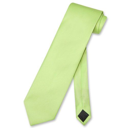 "Biagio 100/% SILK Narrow NeckTie Skinny LIME GREEN Color Men/'s 2.5/"" Neck Tie"