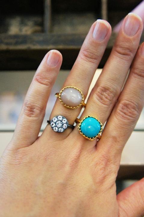 Gilded Marvels rings