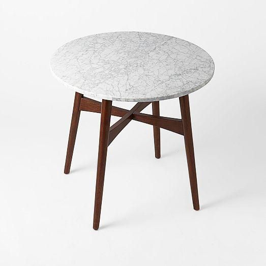 Marble Coffee Table Furniture Village: Reeve Mid-Century Bistro Table, West Elm