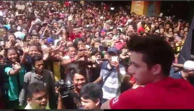 Steven William Gelar Jumpa Fans di Cengkareng Kemarin,minggu 7 februari 2016, pemaren Boy kekasih Natasha Wilona itu di sambut teriak histeris para fans nya