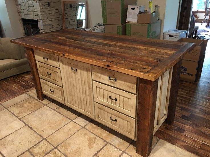 25 unique rustic shabby chic ideas on pinterest white for Show kitchen islands