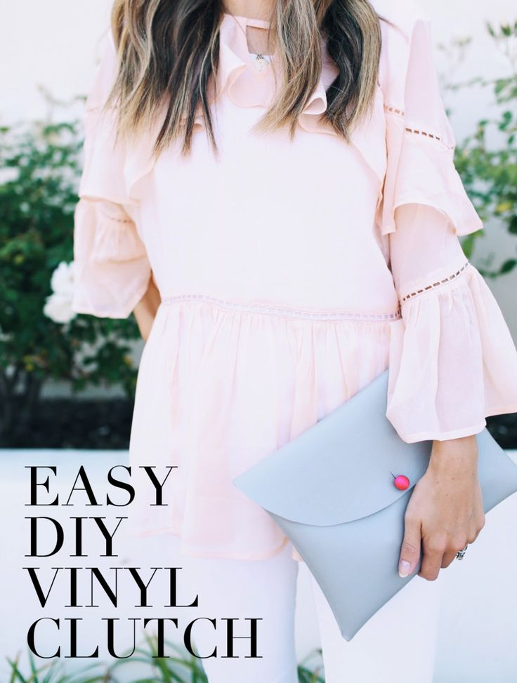 Merrick's Art // Style + Sewing for the Everyday Girl: DIY FRIDAY: EASY VINYL CLUTCH