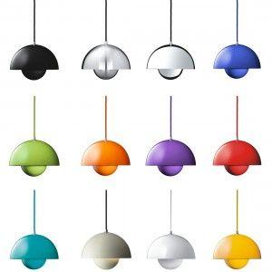 Flowerpot VP1 pendant lamp Tradition: The Flowerpot VP1 suspension lamp by designer Verner Panton for Tradition in the Verner Panton Online Shop.