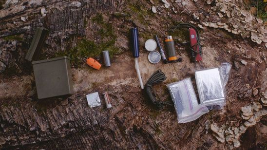 Watch the Survival Hacks: DIY Tiny Survival Kit video clip from Season 3, Episod…