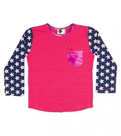 Giggle L/S Pocket T Shirt
