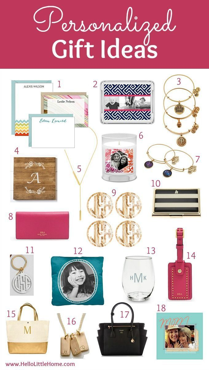 The Best Personalized Gift Ideas For Her Find Awesome Friends Family And Even Business In This Fun Holiday Guide