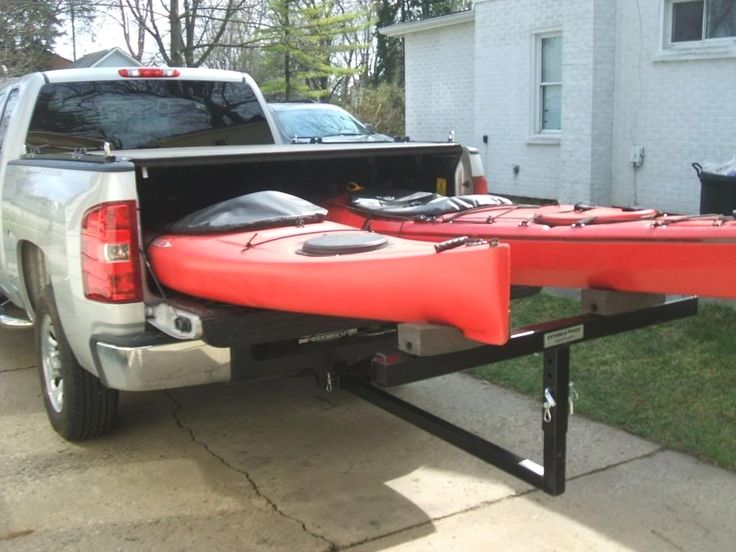 Lifetime Warranty TMS® 2 Pairs JBar Rack HD Kayak Carrier