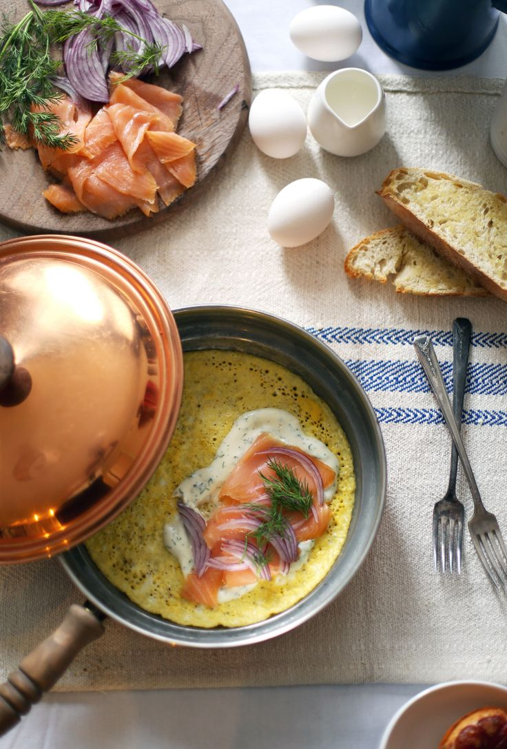 the perfect smoked salmon omelette there ever was |  Lauren Kelp