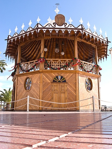 Lanzarote Kioska de la Musica Arrecife by Philip1001971, via Flickr ~ Canary Islands