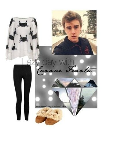 Lazy day with connor franta
