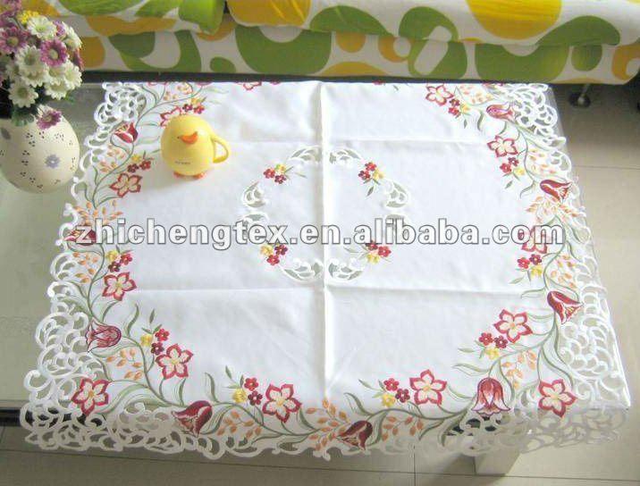 elegante fiore intaglio ricamo tovaglia-Sfondi-Id prodotto:669073855-italian.alibaba.com