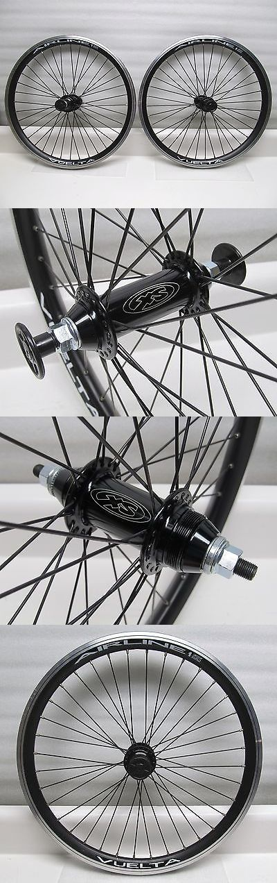 Other Bike Components and Parts 57267: Bmx 20 Vuelta Airline1 Wheelset Xs Hubs Sealed Bearings Se Racing Redline Haro -> BUY IT NOW ONLY: $74.99 on eBay!