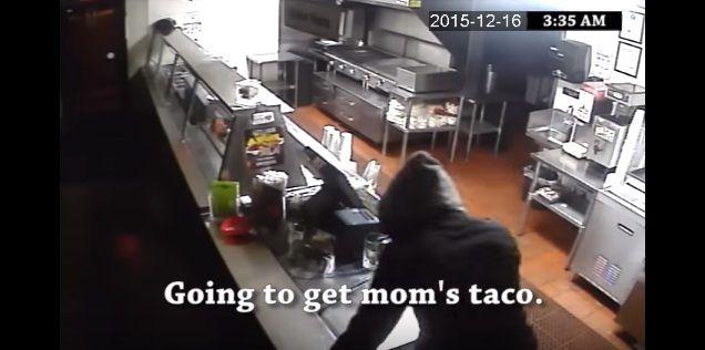 Case: Burglars Just Want Tacos  アメリカ ラスベガスにあるメキシコ料理店・Frijoles & Frescas Grilled Tacosに強盗が押し入る様子を「そんなにタコスが食べたかったんですね」というCMにしてしまった事例