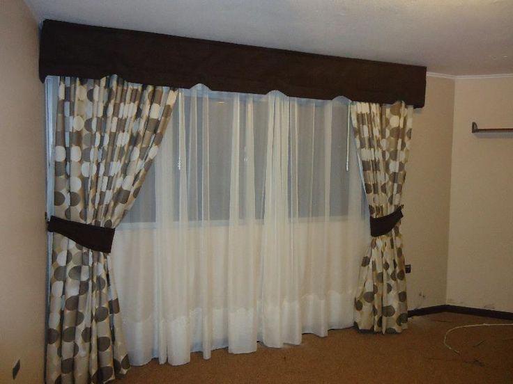 cenefas para cortinas - Buscar con Google                                                                                                                                                                                 Más