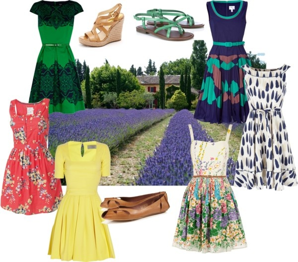 French Country Clothing Part - 50: Vacation Fashion: Provence Countryside I