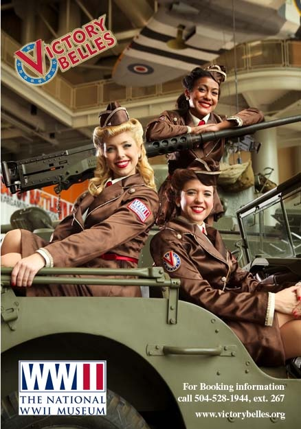The Victory Belles sing 1940s songs for veterans and military members as well as other civilians to honor their service.