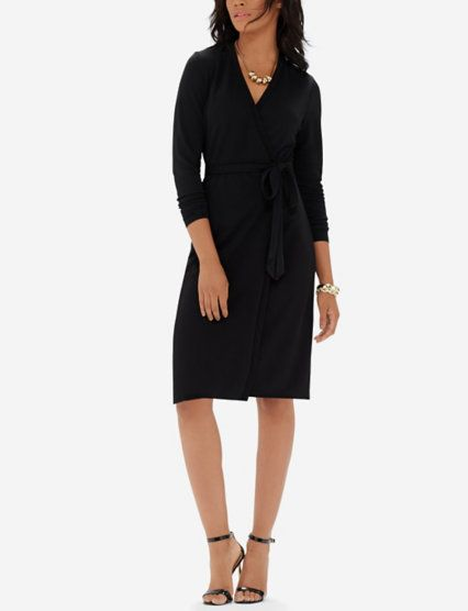 Wrap Dress - can wear with tights too