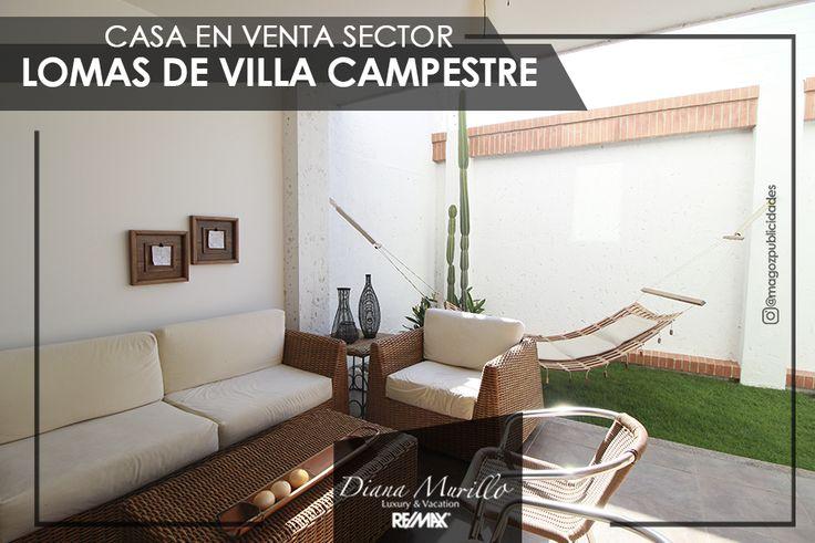 Vive junto con tu familia en esta exclusiva casa de dos plantas ubicada en Villa Campestre y disfruta de la tranquilidad de vivir en un condominio cerrado con hermosa vegetación.