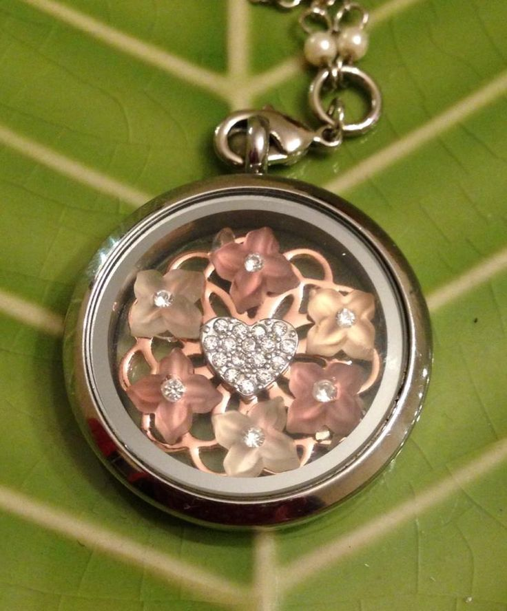 Romantic Locket South Hill Designs by Lourdes